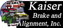 Kaiser Brake Alignment